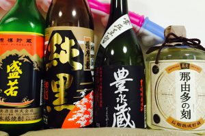 Shochu is enjoyed in living rooms and at dining room tables across the country.